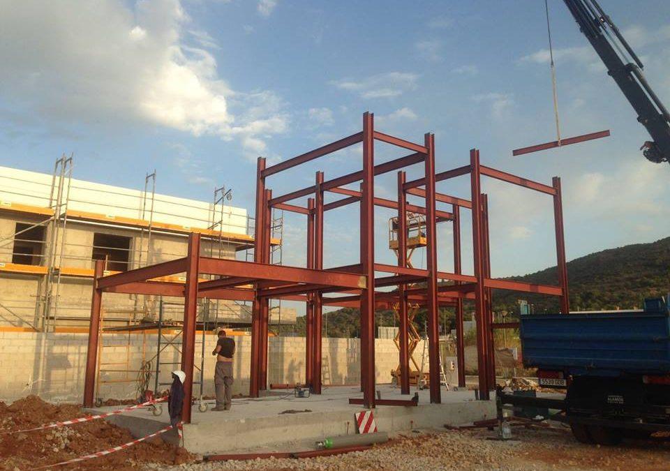 Estructuras met licas rustimetal s l - Estructura metalica vivienda ...