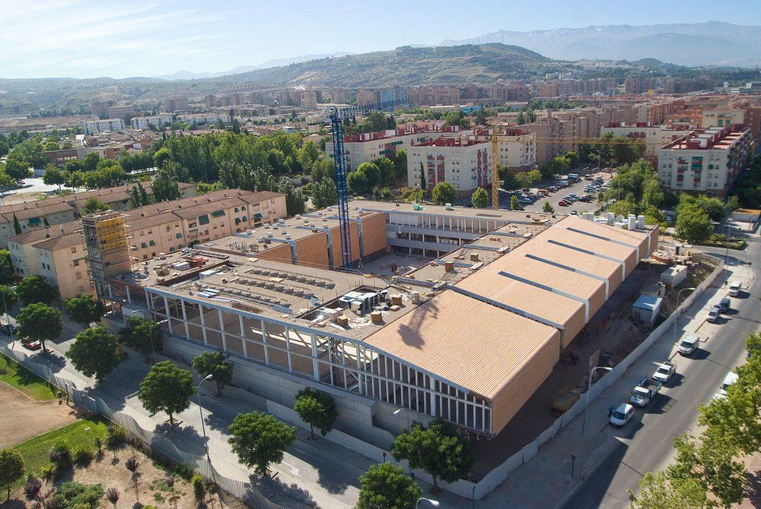 Edificio nueva sede de la Escuela Universitaria de Magisterio: La Inmaculada, en Almanjayar – Granada