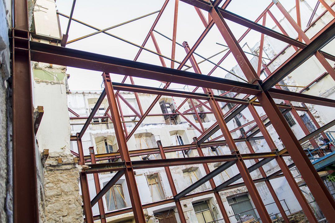 Rehabilitación edificio para viviendas (Jaén)